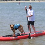Kinsey & Chris Paddleboarding