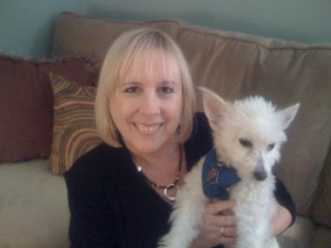 Susan Kelsey and Scamp